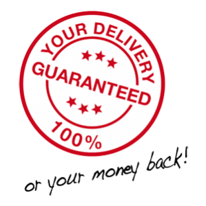 Moneyback Guarantee delivery