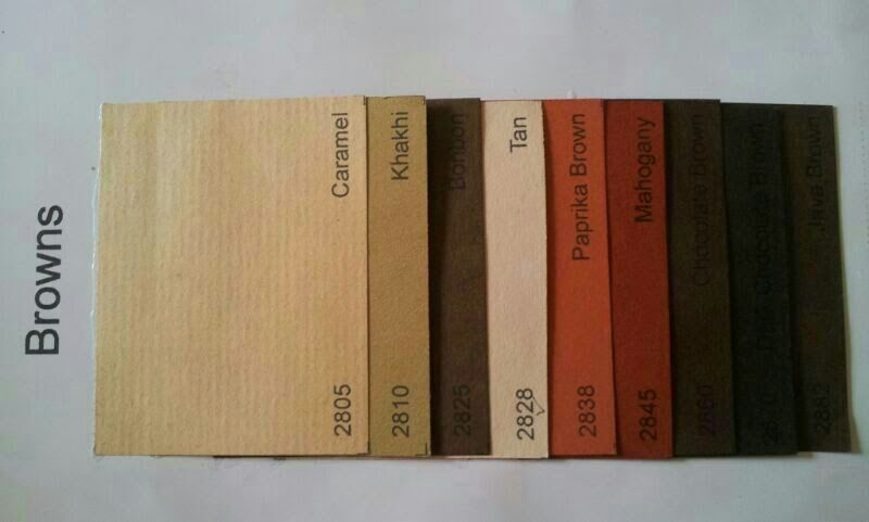 Brown Single color shades