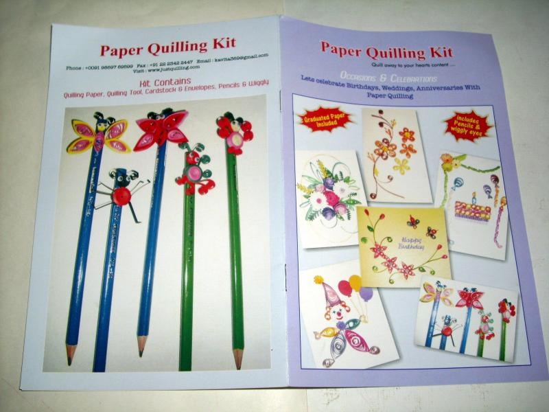 PAPER QUILLING KIT