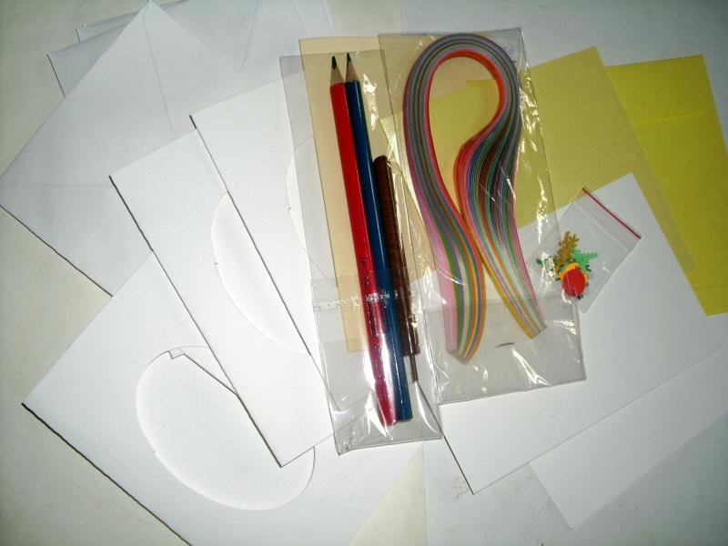 PAPER QUILLING KIT MATERIAL