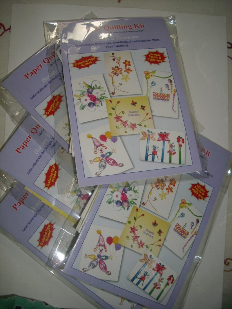 Paper Quilling Kits ( Packof 5 Kits  )